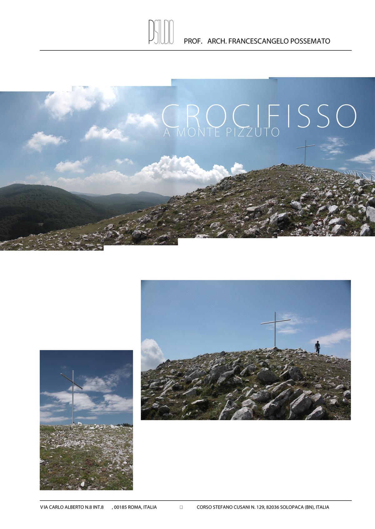 Solopaca, Italy_Crocifisso a Monte Pizzuto by Franco Possemato
