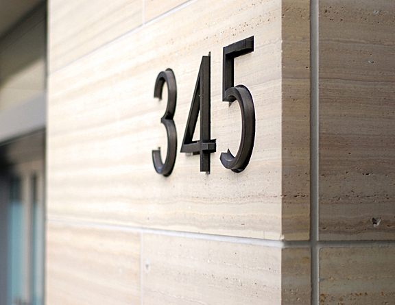 Street Address Numbers