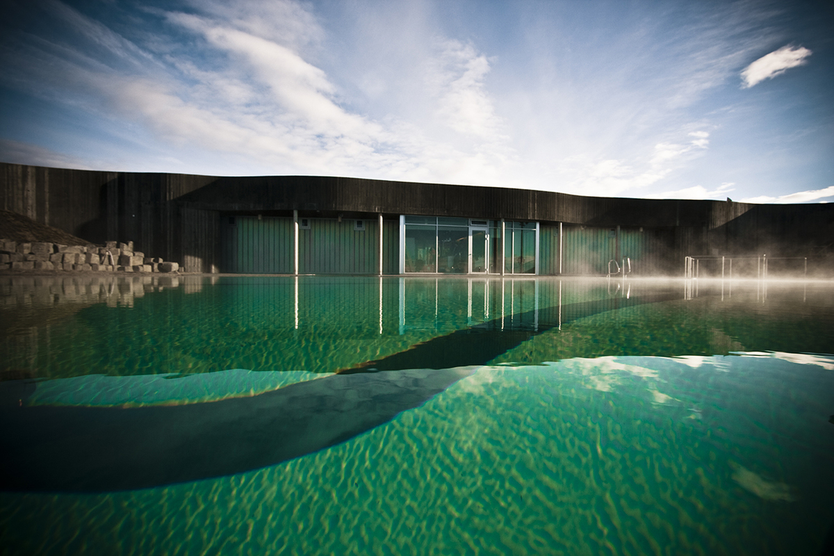 Hofs s swimming pool basalt architects archinect for Swimming pool architecture
