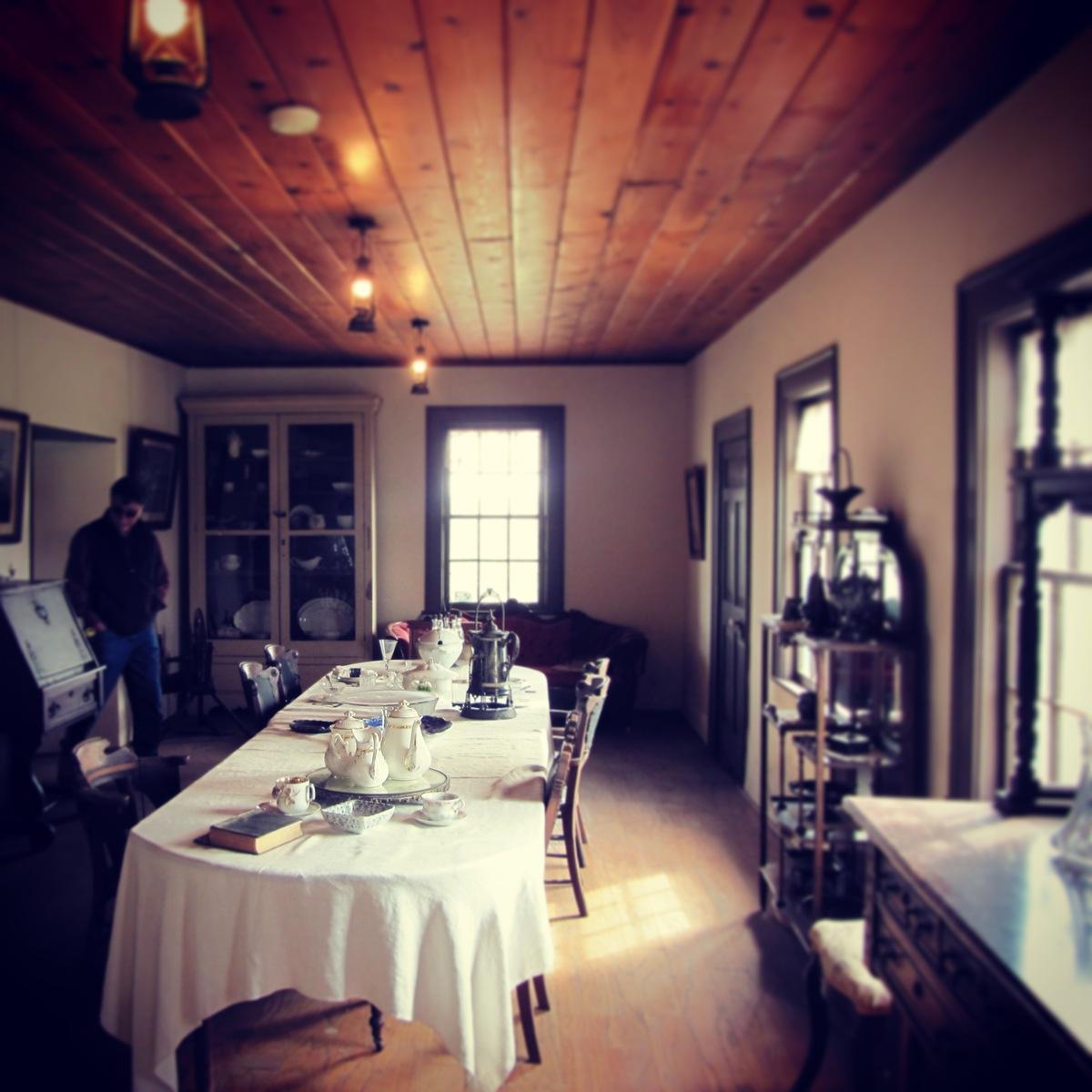 adobe: dining room