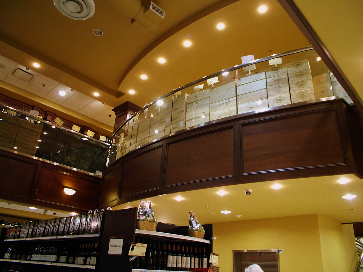 MEZZANINE LEVEL - ELEVATOR BALCONY