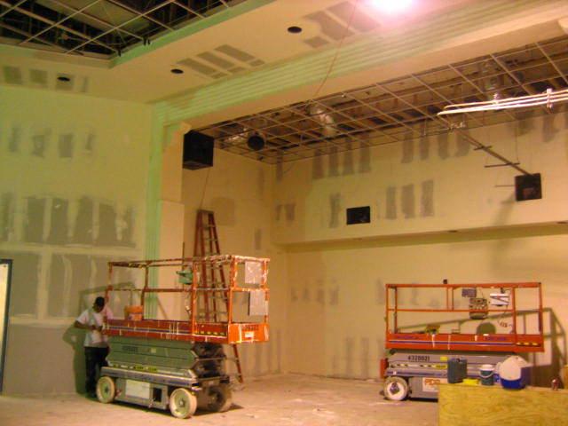 Rebuilt stage surround