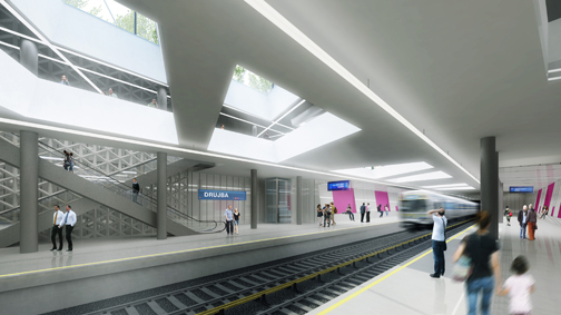 Metro Station Sofia - Competition entry - S&P architects