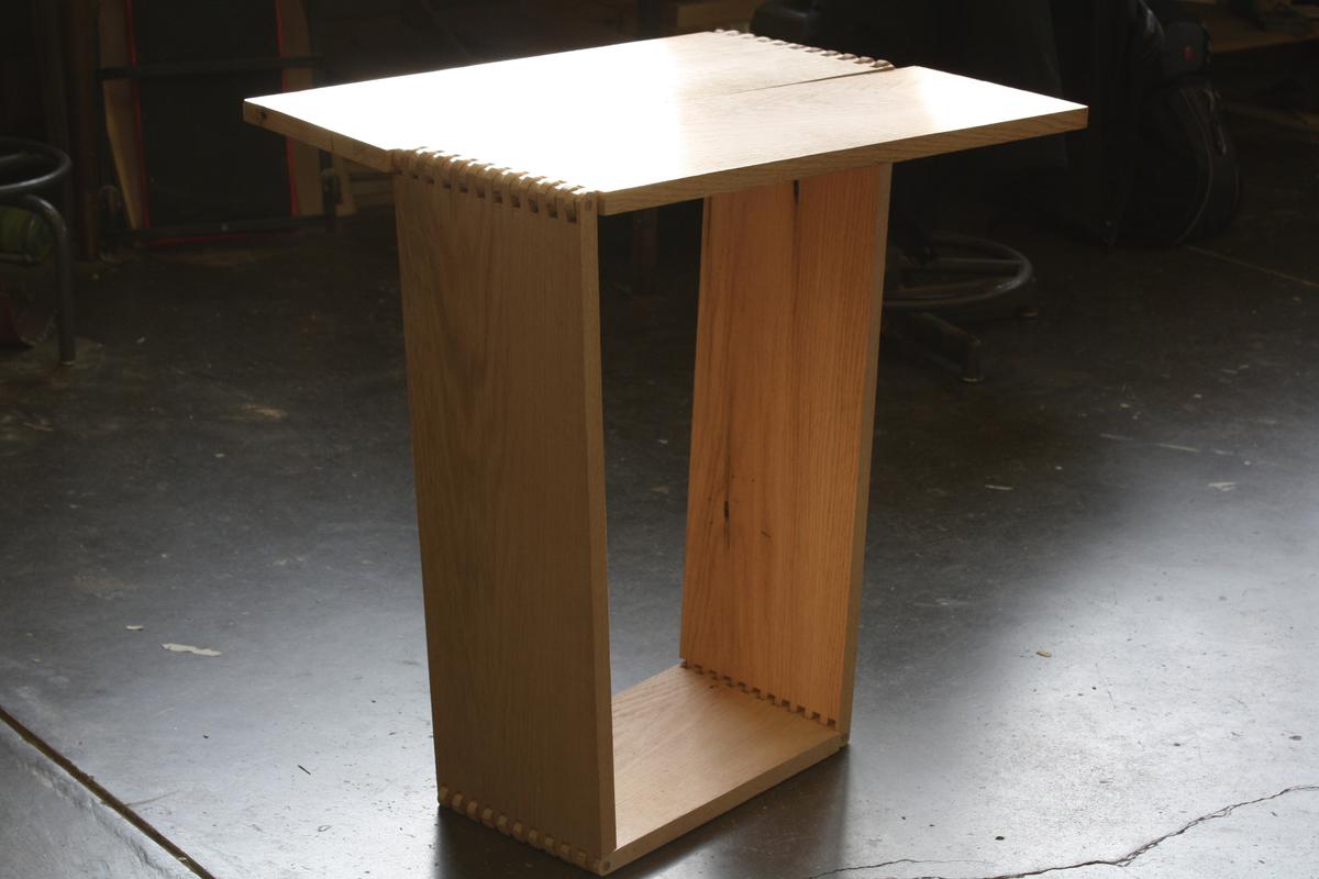 Computer Table Designed by Megan Basnak