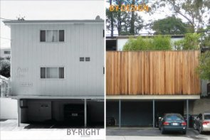 BY-Right/BY-Design poster, courtesy of LA Forum for Architecture and Urban Design.