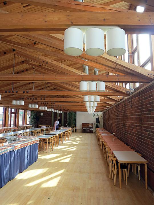 Cafeteria at Jyväskylä University