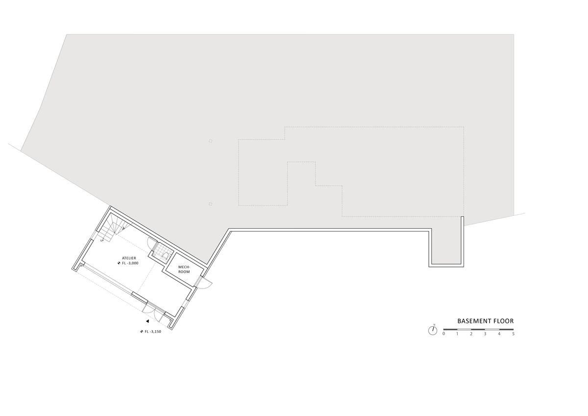 plan - basement floor
