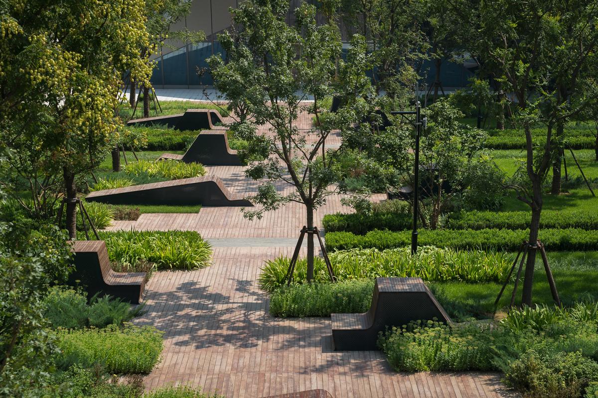 Beiqijia technology business district martha schwartz for Landscape gardening company
