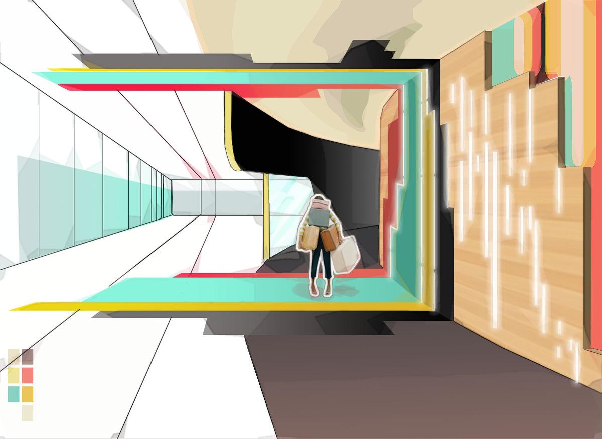Arrivals concept rendering.2008.