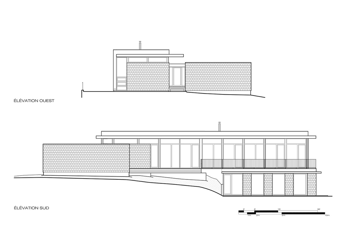 Showcase slate house by affleck de la riva architects for Dsb landscape architects