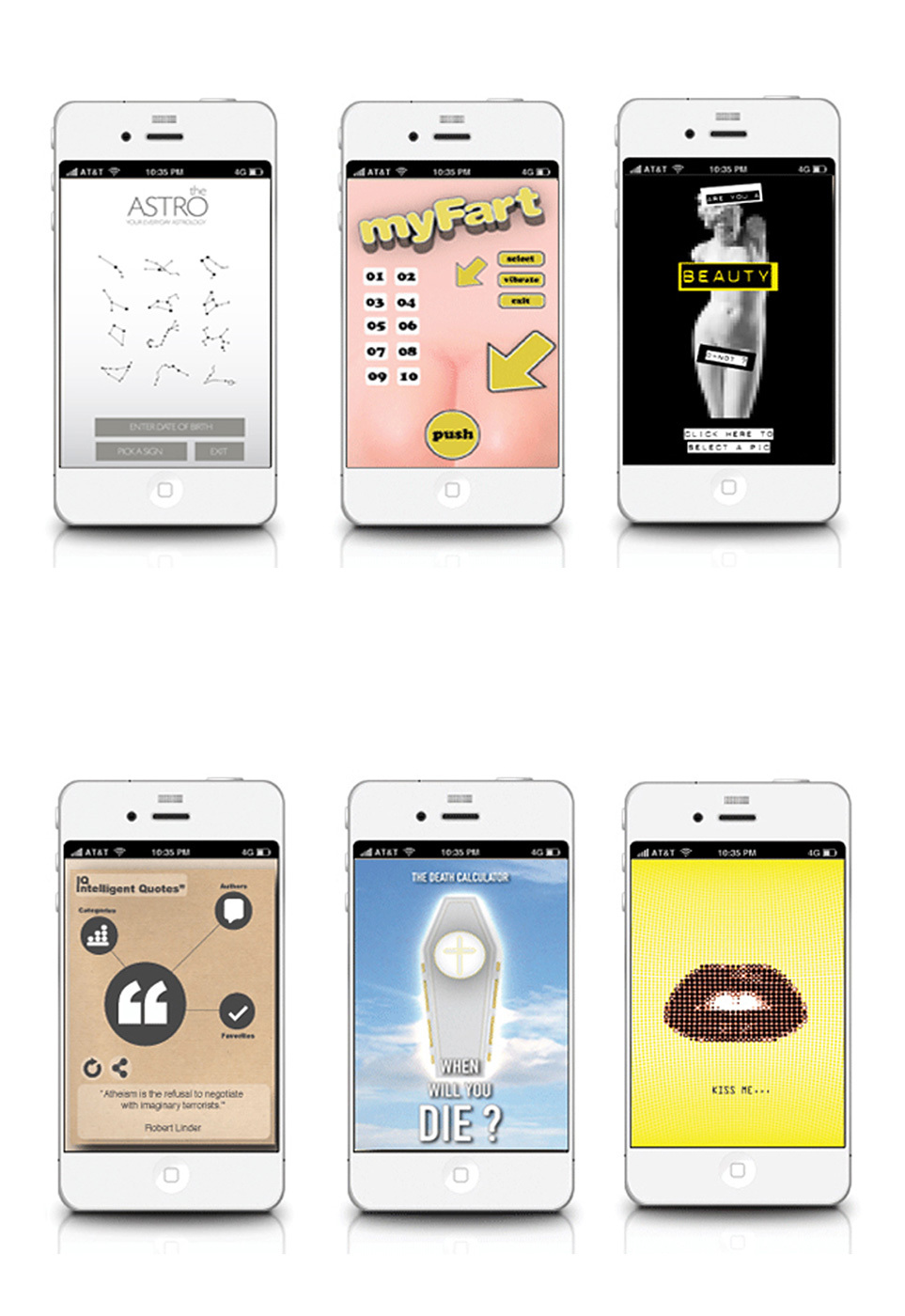 APP DESIGNS FOR ANDROID