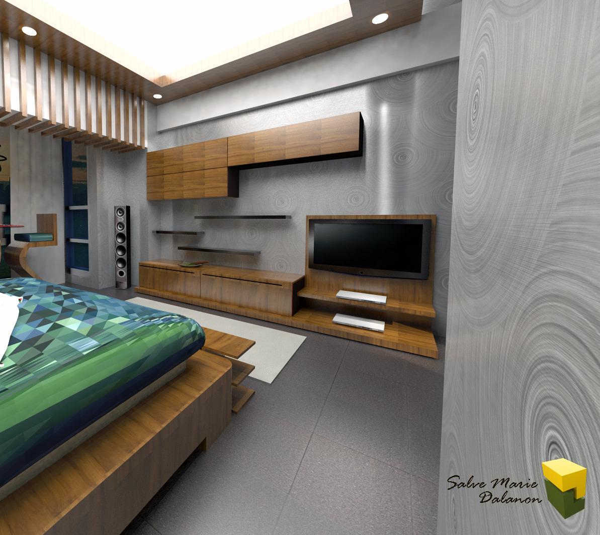 Various proposals salve marie dalanon archinect for Studio type condo design