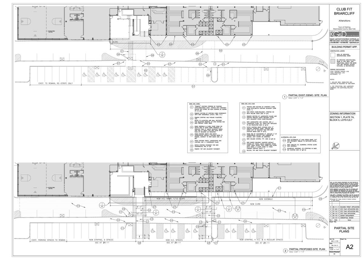 Project site plans