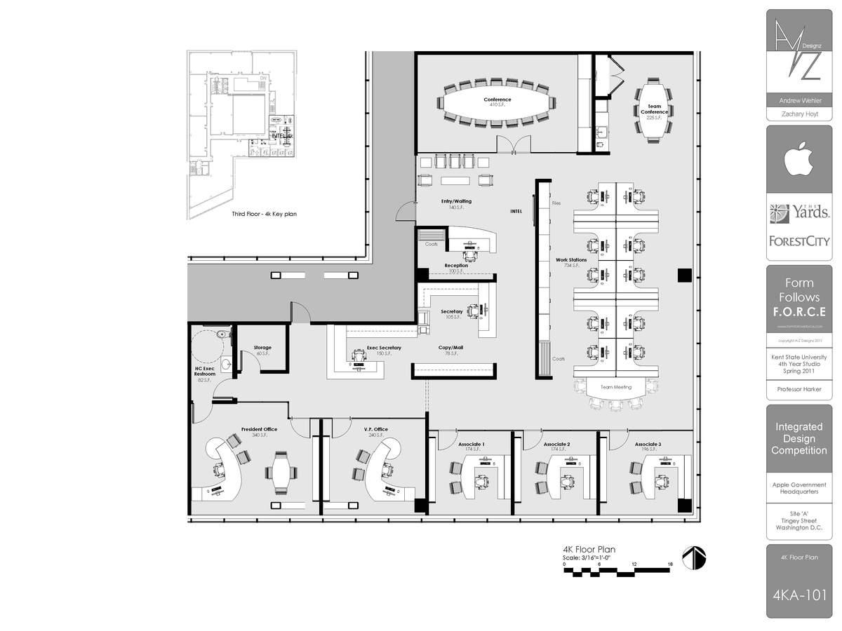 4k Floor Plan