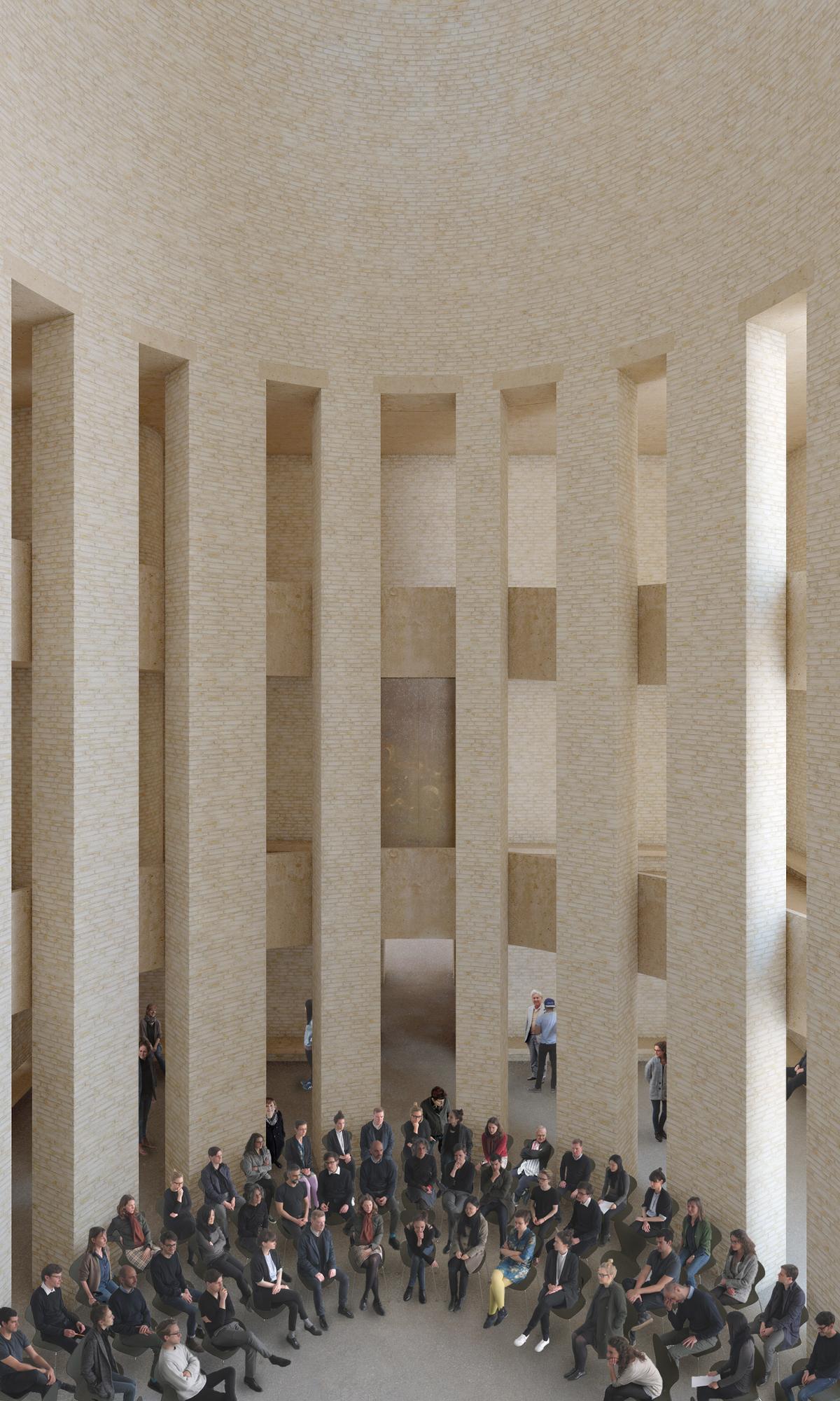 Domed Central Hall © Kuehn Malvezzi, Visualization: Kuehn Malvezzi