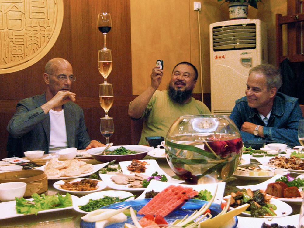 Herzog & de Meuron and Ai Weiwei, Film Still, Birds Nest - Herzog & de Meuron in China © 2008 by T&C Film AG