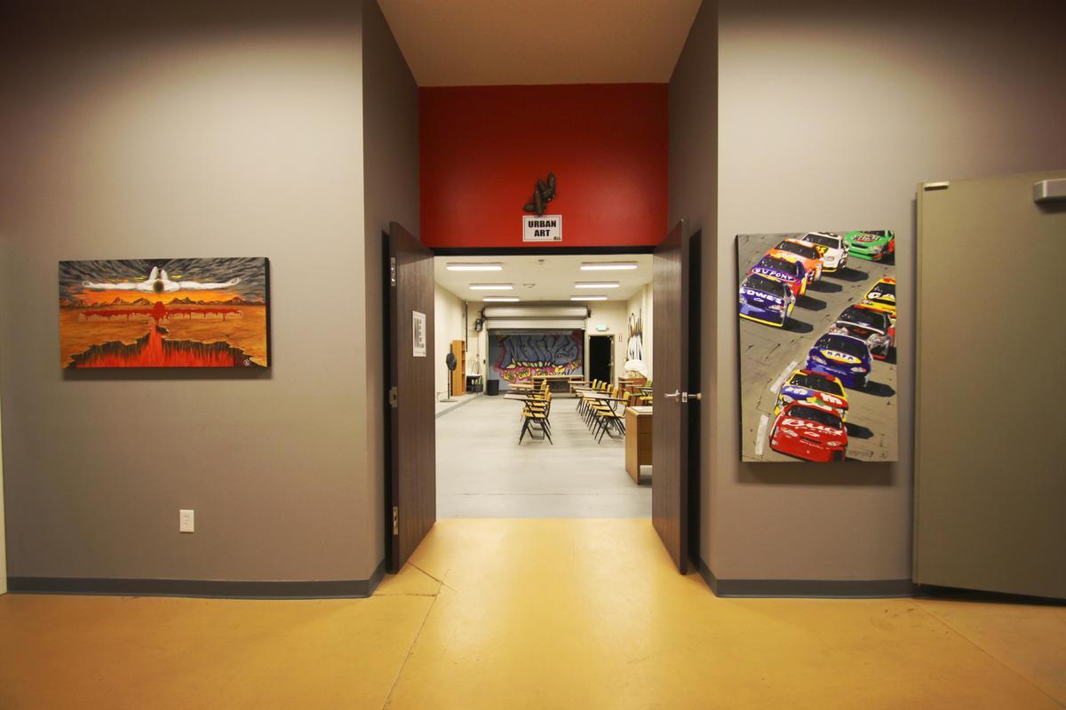 Hallway Looking Into Urban Arts Studio