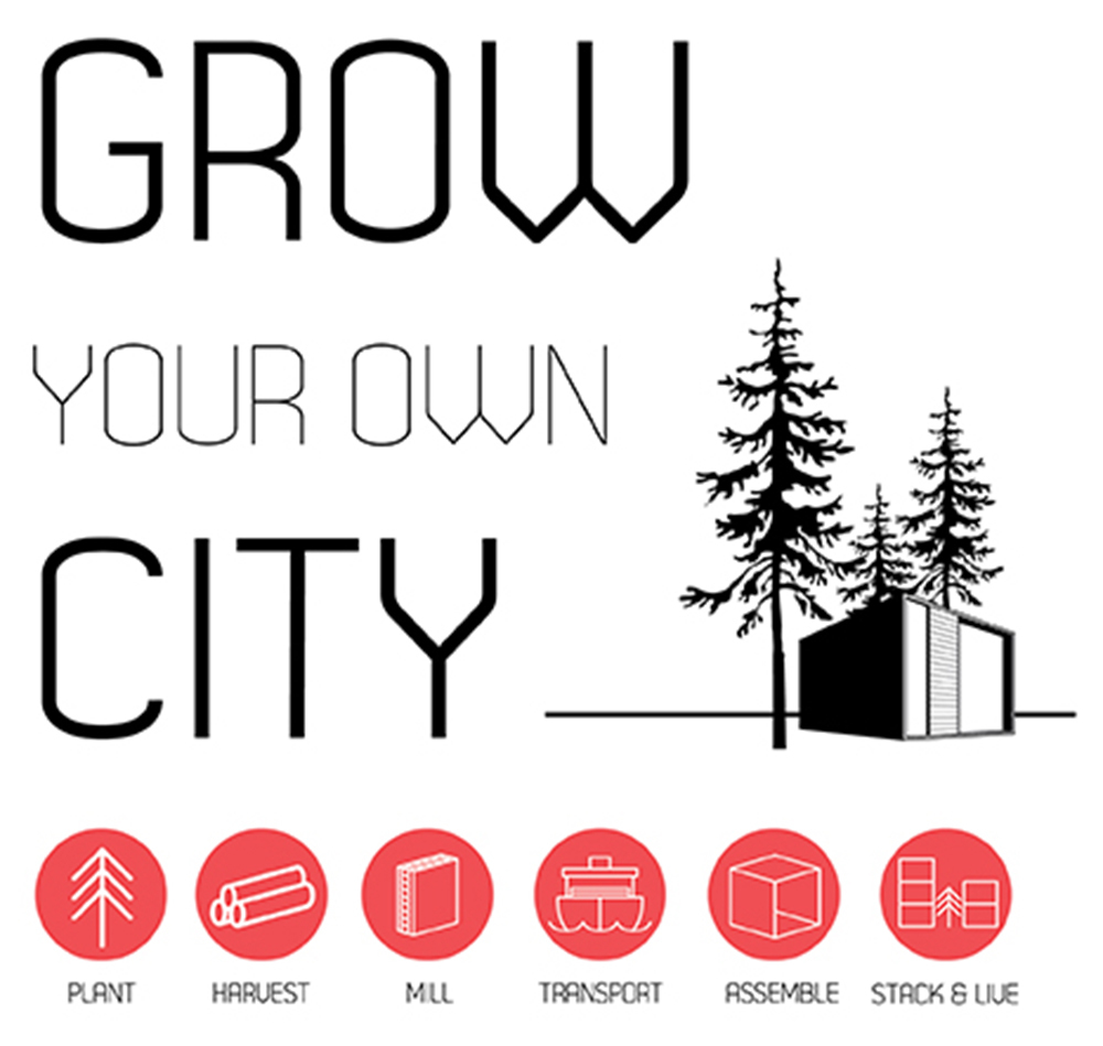 First Place- Grow Your Own City : University of Oregon