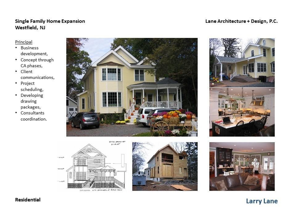 Westfield NJ Residence