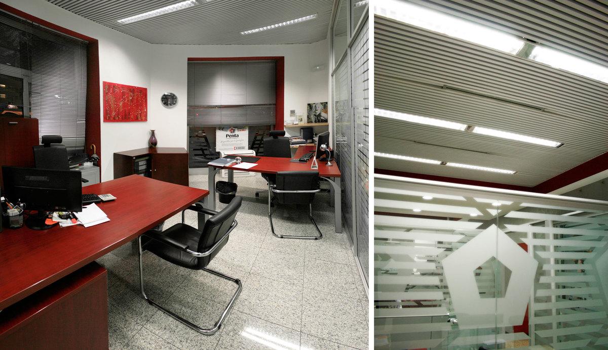 penta office in rome davide coluzzi daz architect