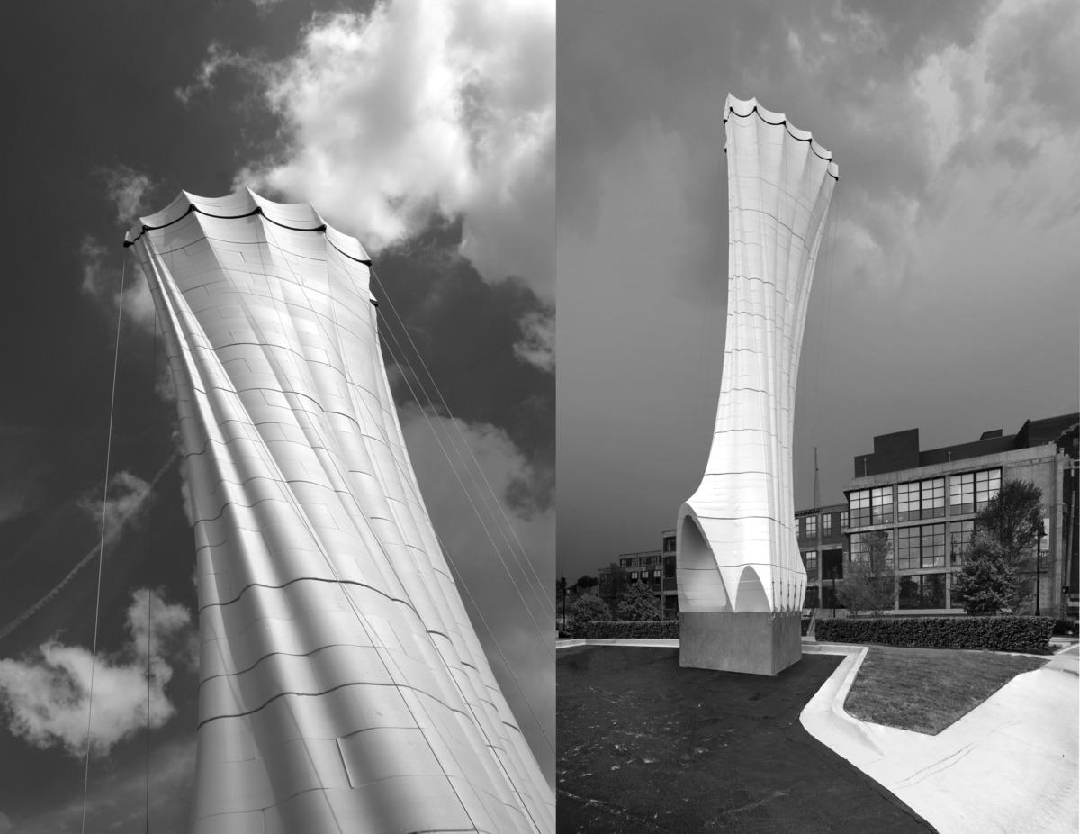 Periscope: Foam Tower. Image via Matter Design.