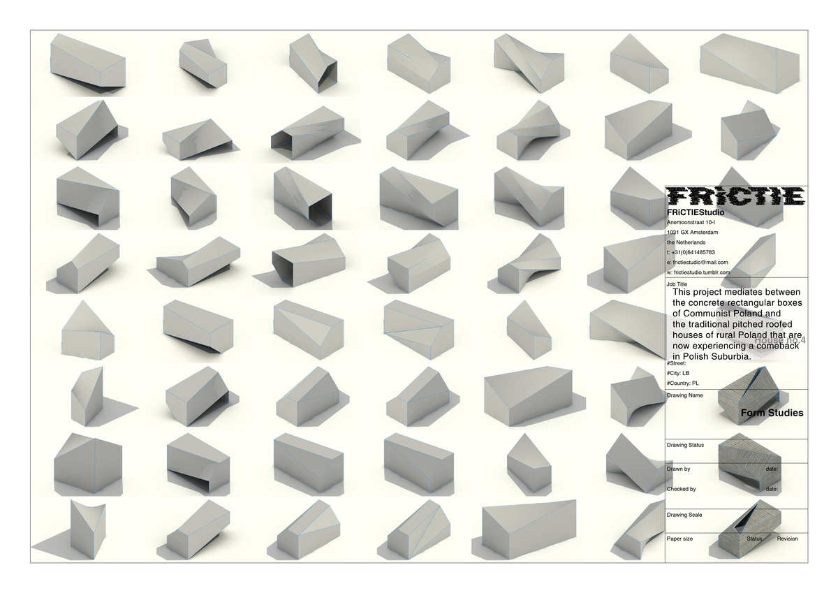 House iv frictiestudio archinect for Concept architectural definition
