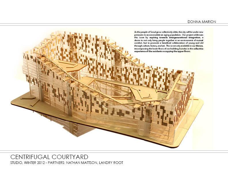 Courtyard - model