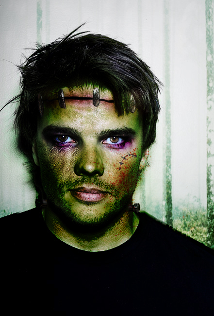 Bjarke as Frankenstein