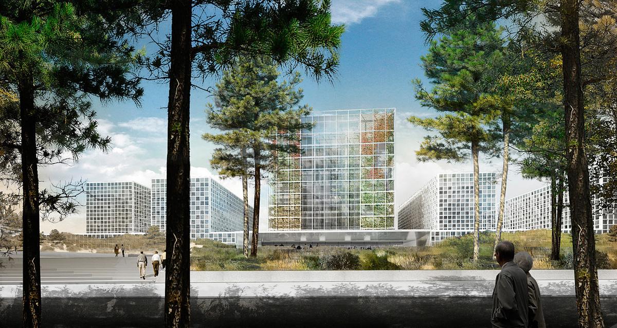 Exterior rendering (Image: schmidt hammer lassen architects)