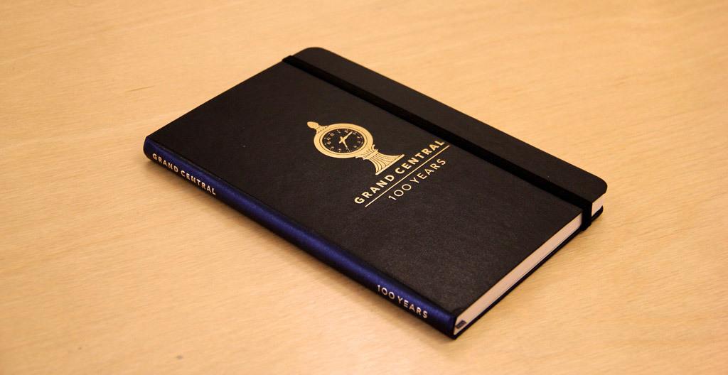 Grand Central Terminal special edition Moleskine sketchbook
