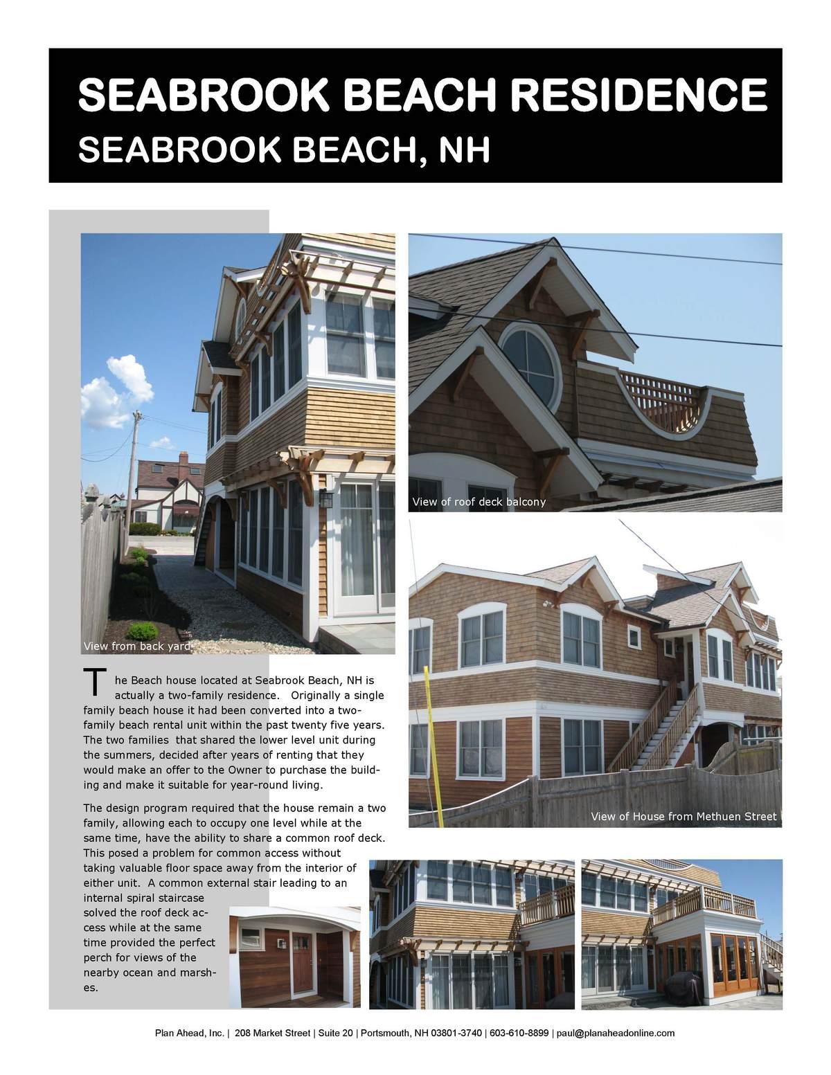 Seabrook Beach Residence