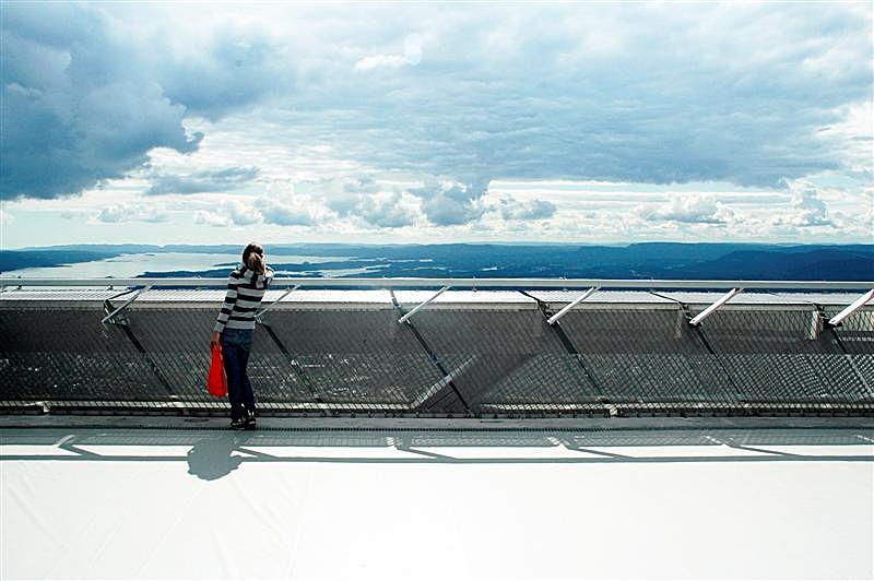 Observatory deck