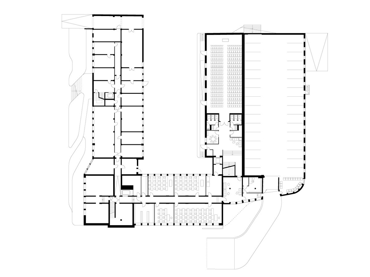Floor plan, -1 (Image: J. Mayer H. Architekten)