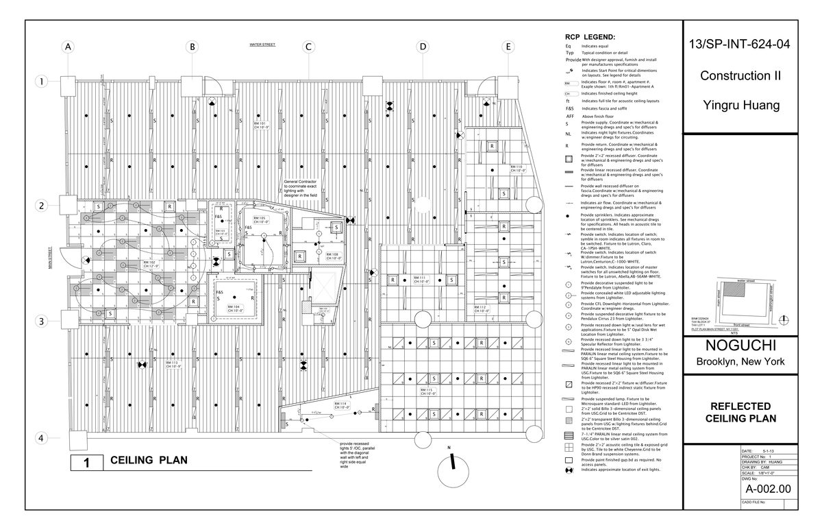 Construction drawings yingru huang archinect for Construction drawing