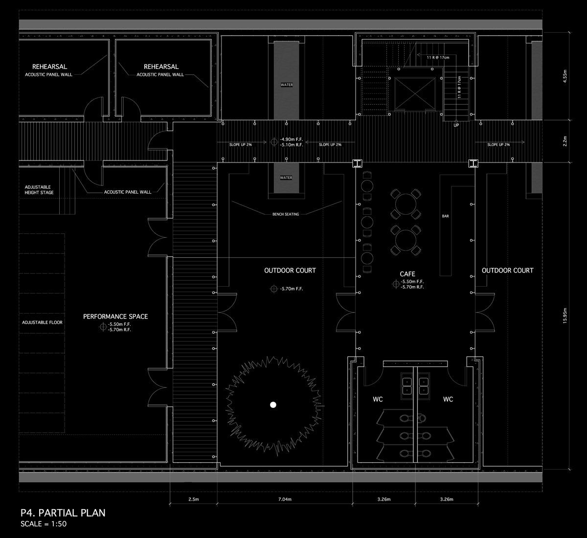 1:50 Basement Floor Plan