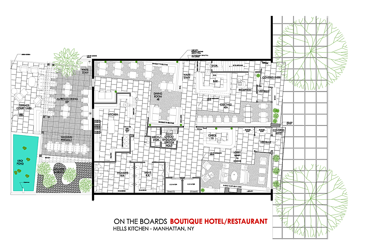 BOUTIQUE HOTEL/RESTAURANT