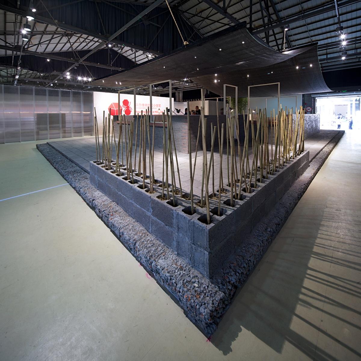 Rebirth brick, Jiakun LAU, image courtesy of UABB.
