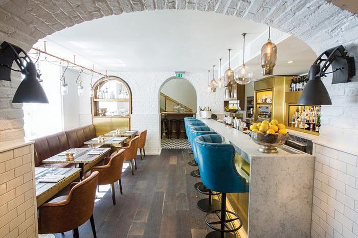 Restaurant or Bar in a Heritage Building (UK): Apero (London) by Dexter Moren Associates