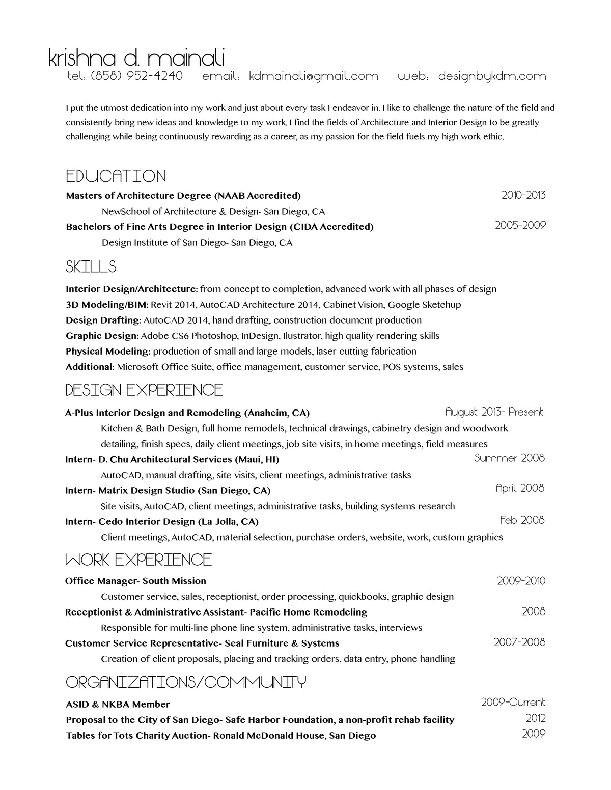 sample project list for resume example resume