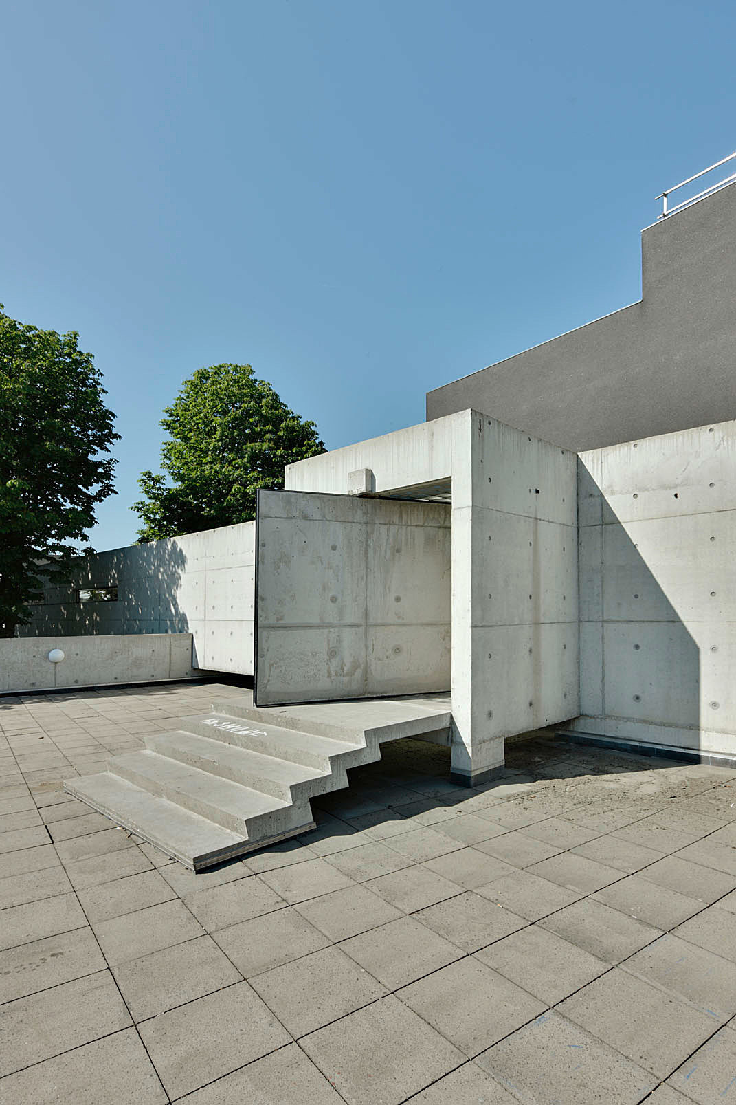Academy of Art & Architecture in Maastricht, the Netherlands by Wiel Arets Architects