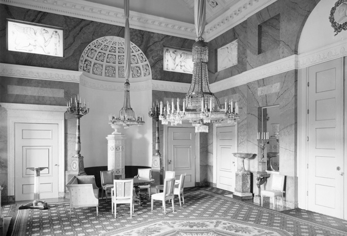 Stucco hall, 1941.