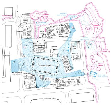 Cumulus - Grorud Center - Plan in Winter