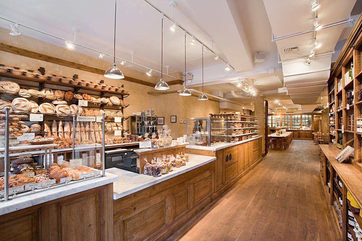 Floor Plan For Bakery Le Pain Quotidien Tobin Parnes Design Archinect