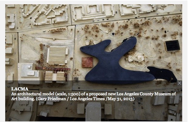 proposal by Peter Zumthor for LACMA