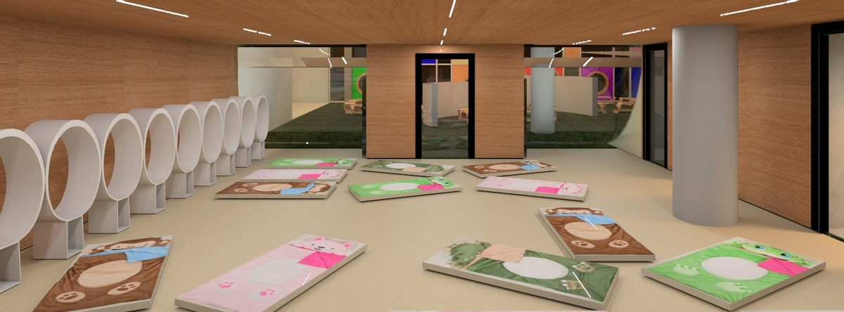 Forest Kindergarten Interior Design Jannine Angbetic
