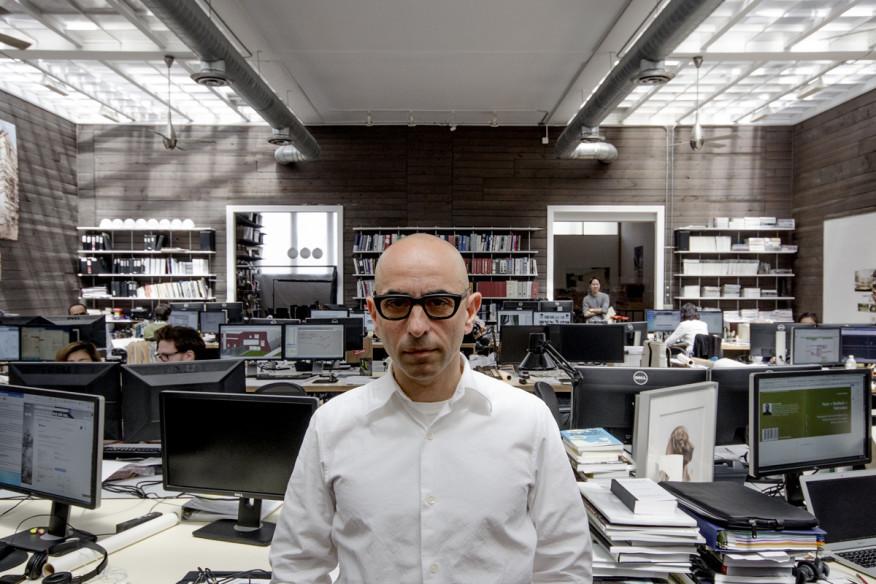 Nader Tehrani at NADAAA in June of 2015. Image courtesy of NADAAA.