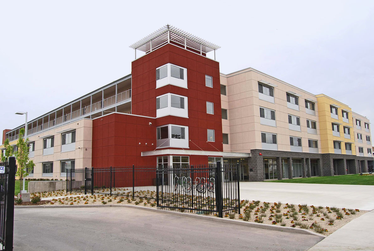 The Sunrise Metro Apartments in Utah. Image via ascentconstruction.com.