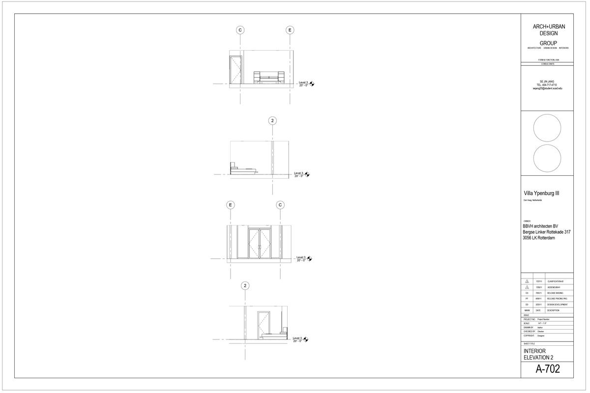 Interior Elevation 2