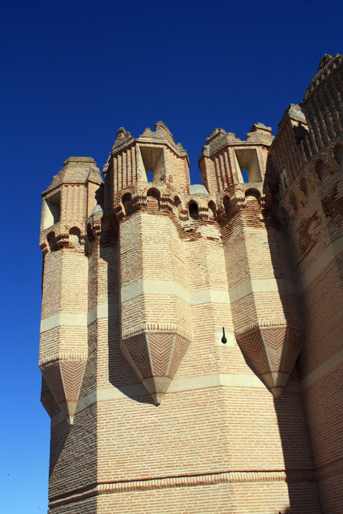 The beautiful castle of Coca. One of the most quintessential examples of Castilian Military Architecture via Alexander Morley