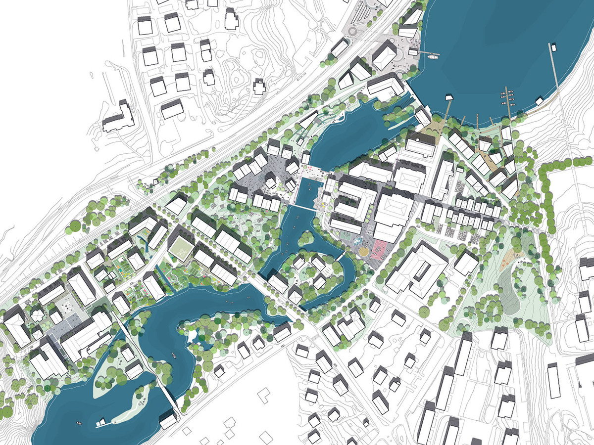 Master plan (Image: Mandaworks and Hosper Sweden)